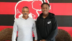 Inny Radebe and EP coach Peter de Villiers