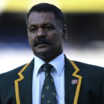 Peter de Villiers during the 2009 British & Irish Lions tour of South Africa