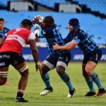 Trevor Nyakane and Marco van Staden against the Lions in the Currie Cup