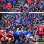 Fans watch as Leinster take on Munster in the PRO14