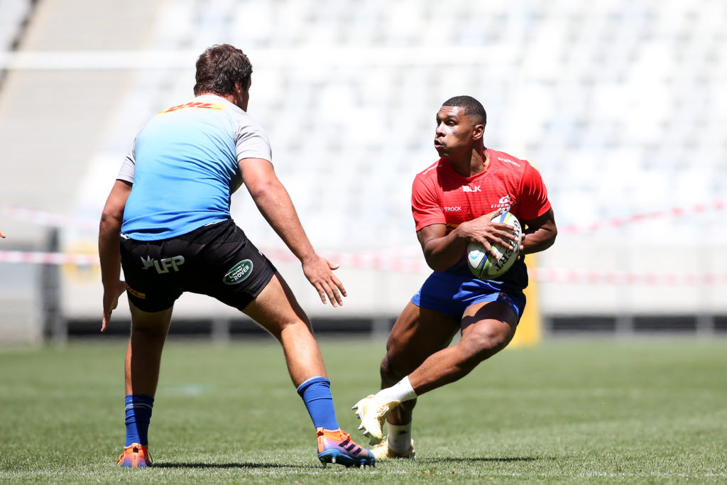 Damian Willemse during Stormers training