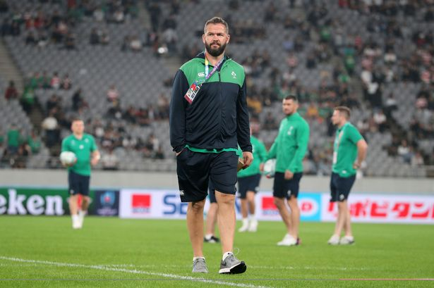 Ireland coach Andy Farrell