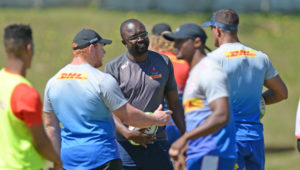 Stormers forwards coach Rito Hlungwani