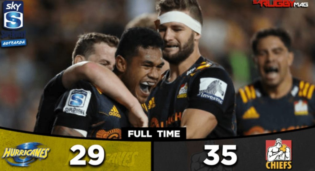 Chiefs fightback floors Hurricanes