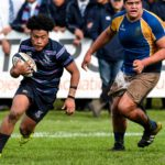 New Zealand schools rugby action