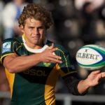 Pat Lambie playing for the Junior Springboks in 2010