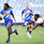 Seabelo Senatla scores for the Stormers