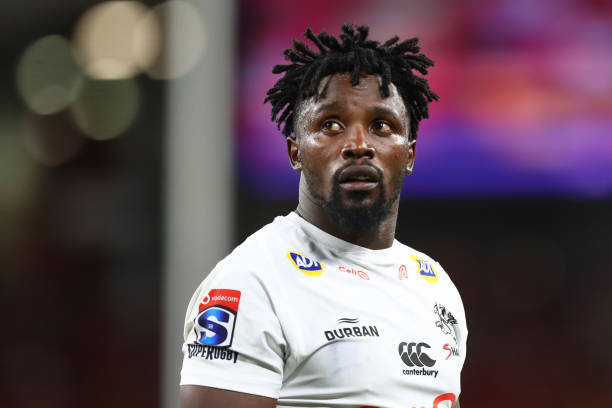 Former Sharks and Springbok wing Lwazi Mvovo