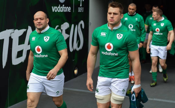 Rory Best and CJ Stander