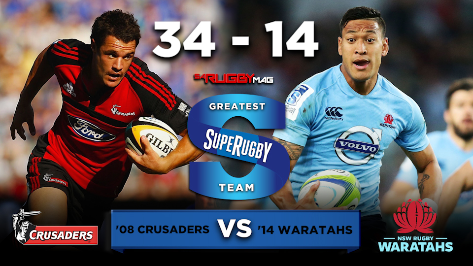 Carter masterclass sees Crusaders punish Tahs