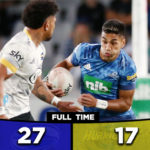 Blues grind Hurricanes into submission