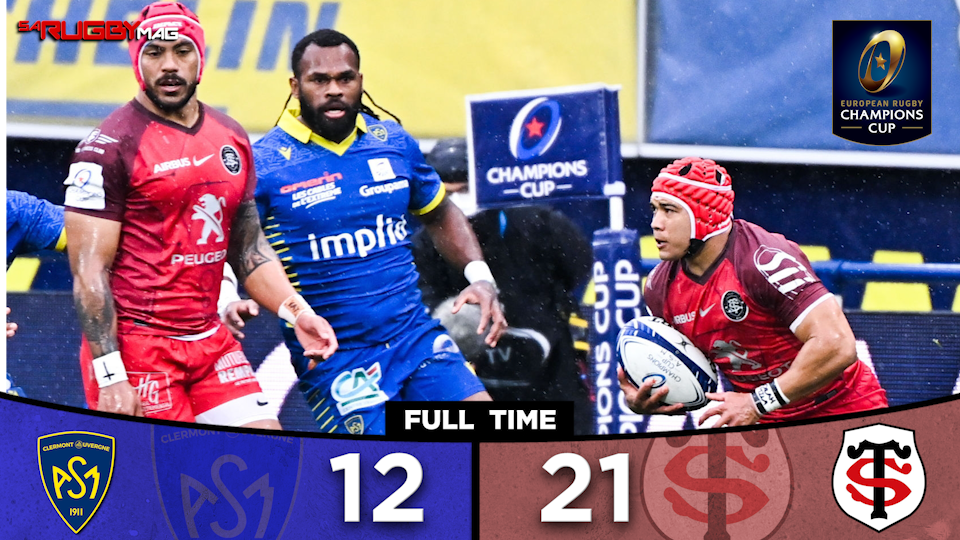Toulouse book place in Champions Cup semi-final