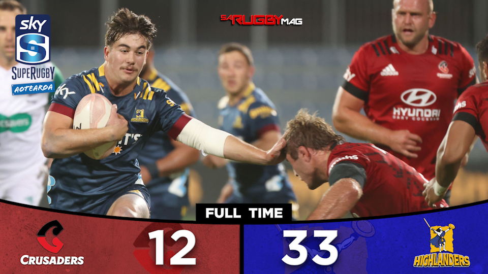 Highlanders Hunt Crusaders for record victory