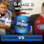 Schalk Burger Stormers Richie McCaw Crusaders Super Rugby greatest ever