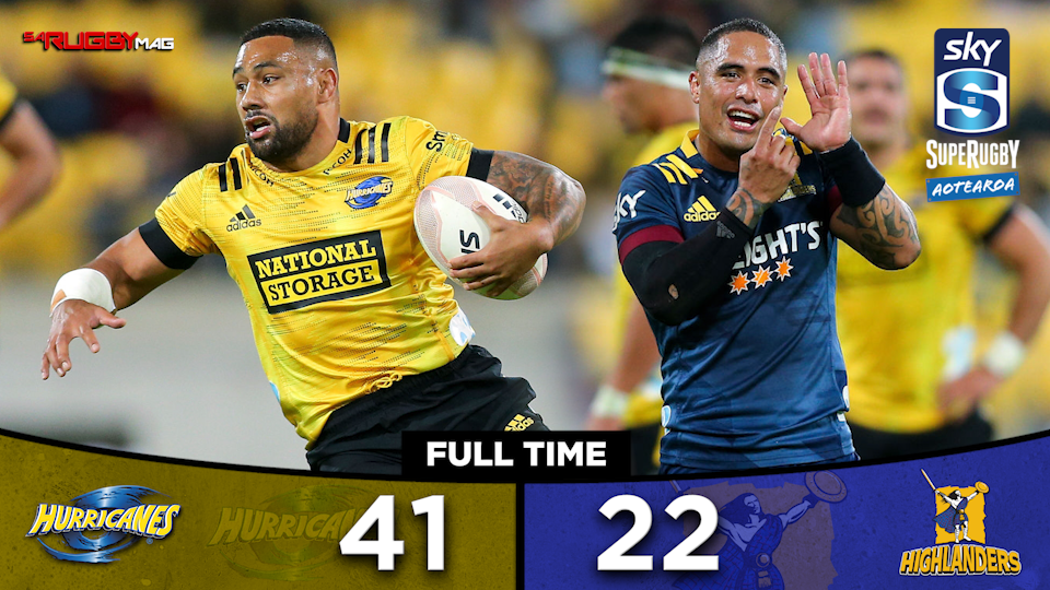 Six-try Hurricanes blow past Highlanders
