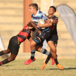 Paarl Boys High take on Welkom Gim at the Monument Centenary