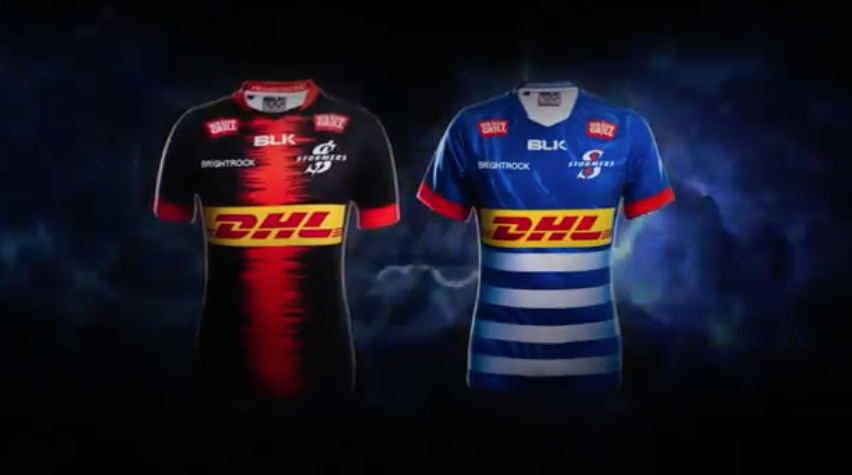 The Stormers' new away and home jerseys