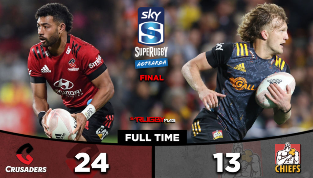 Mounga saves Crusaders from yellow peril to win final