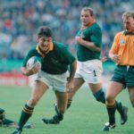 Joost van der Westhuizen on the charge against the Wallabies