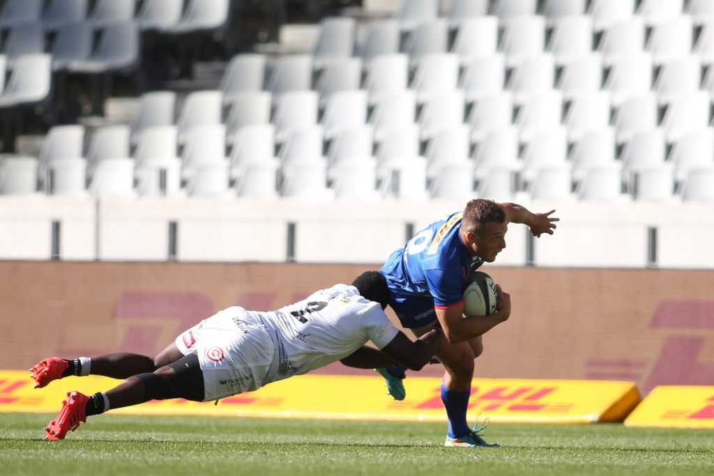 Stormers flyhalf Kade Wolhuter against the Sharks