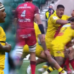 Watch: First-ever red card in Champions Cup final