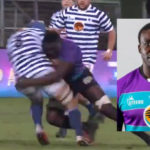 Watch: Massive tackle from NWU Eagles lock