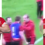 Watch: Wales, Lions captain's punch-up with teammate at training