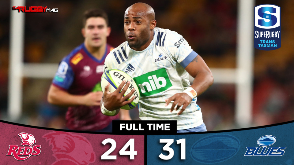 Blues survive Reds fightback