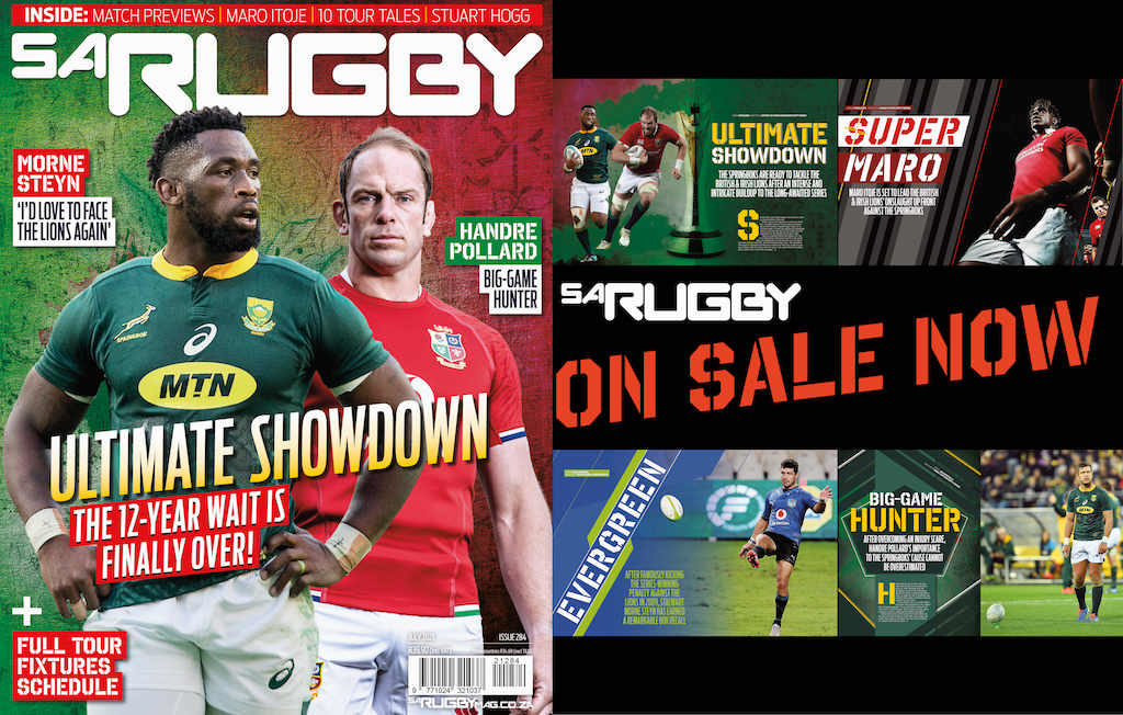 New issue: Boks, B&I Lions set for the 'ultimate showdown'