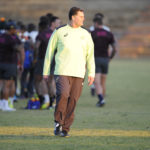 Rassie Erasmus during the South African national men's rugby team training session at Shimla Park on June 22, 2021 in Bloemfontein, South Africa.