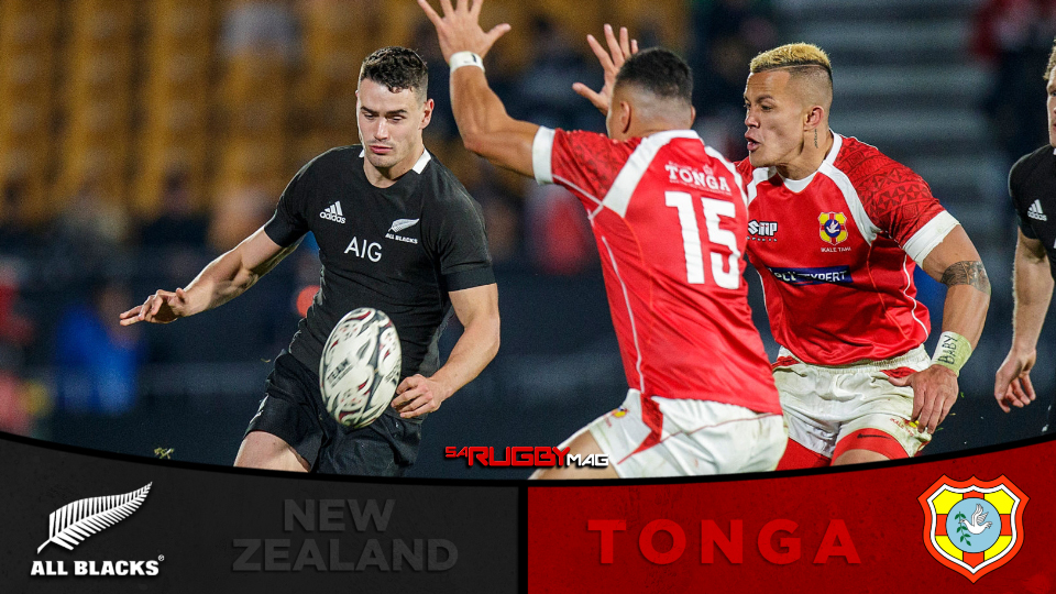 All Blacks rout Tonga in terrible advert for 'Test' rugby