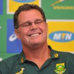 Rassie Erasmus during the Springboks Press Conference on 24 January 2020 at Southern Sun Hotel, Pretoria , Pic Sydney Mahlangu/BackpagePix