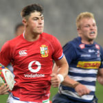 Louis Rees-Zammit of the BI Lions scores a try during the 2021 British and Irish Lions Tour game between the Stormers and BI Lions at Cape Town Stadium on 17 July 2021 ©Ryan Wilkisky/BackpagePix