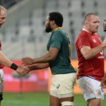 Lions and Boks after the game