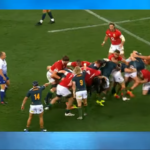 Watch: Illegal scrumming & mauling (1st Test)