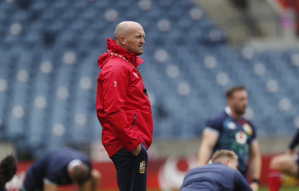 Rugby Union - British and Irish Lions Training - Murrayfield Stadium, Edinburgh, Scotland, Britain June 25, 2021 British and Irish Lions' assistant coach Gregor Townsend during training Action Images via Reuters/Lee Smith - UP1EH6P0UCXP3