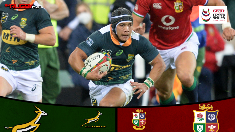 SA A deliver serious statement to overpower Lions