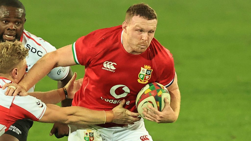 Sam Simmonds in action for the British & Irish Lions / Getty Images