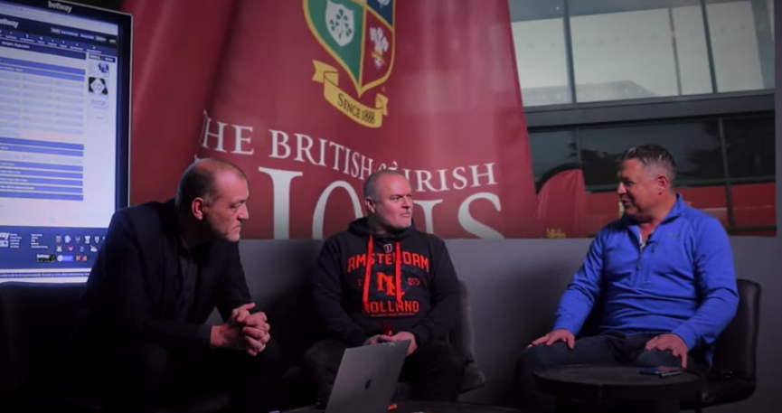 Part 1: Lions legend Scott Gibbs awed by prospect of series