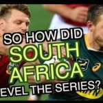 Squidge Rugby: How the Boks dismantled the Lions (2nd Test)