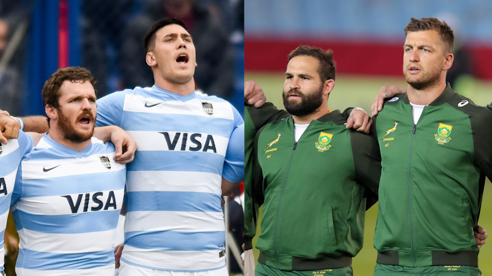 Teams: Argentina vs Boks  – Rugby Champs (Round 2)