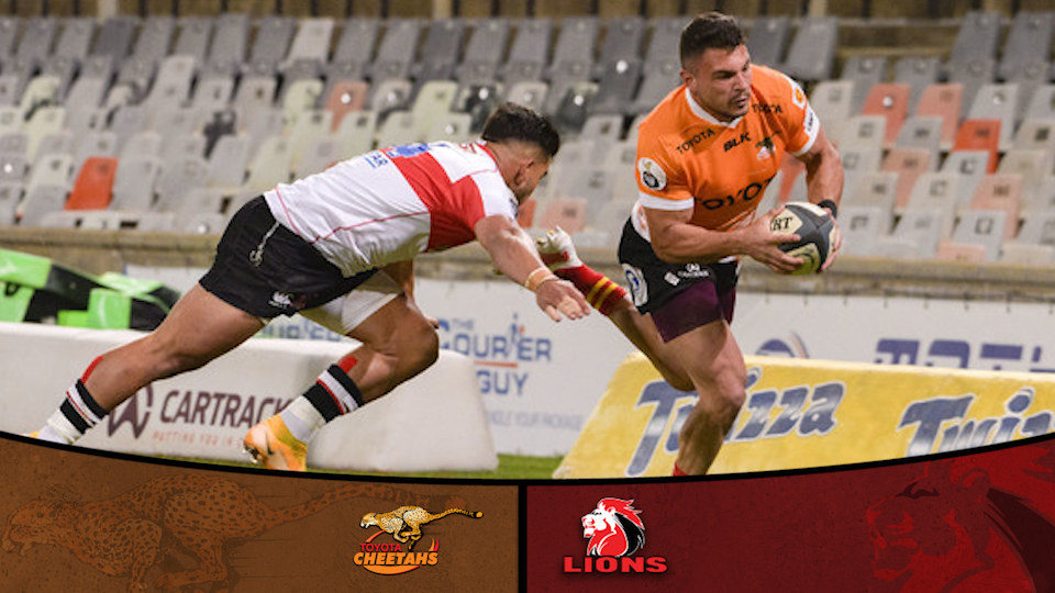 Cheetahs and Lions play to high-scoring draw