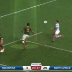 Watch: Am's try-saving turnover