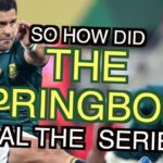 Watch: How the Boks sealed the Lions series