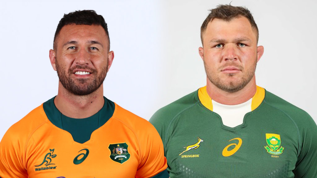 Teams: Boks vs Wallabies – Rugby Champs (Round 3)