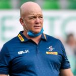 Mandatory Credit: Photo by Luca Sighinolfi/INPHO/Shutterstock (12465541h) Benetton Rugby vs DHL Stormers. DHL Stormers Head Coach John Dobson United Rugby Championship, Stadio Comunale Monigo, Treviso, Italy - 25 Sep 2021