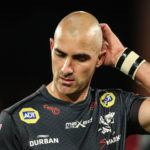 Mandatory Credit: Photo by Dan Sheridan/INPHO/Shutterstock (12465868dk) Munster vs Cell C Sharks. Sharks' Ruan Pienaar dejected after the game United Rugby Championship, Thomond Park, Limerick - 25 Sep 2021
