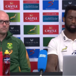 Watch: Bok coach and captain speak after shock loss