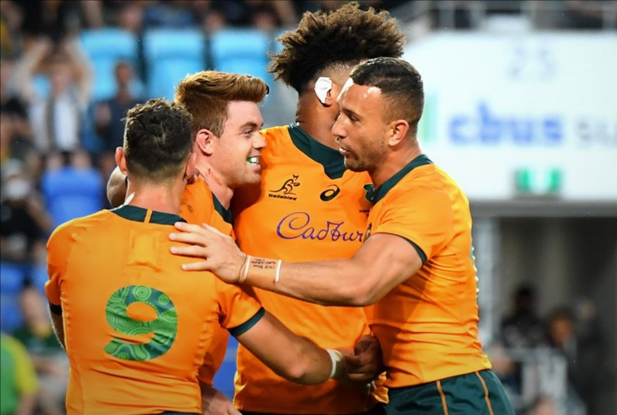Wallabies lash Pumas to finish tournament in style