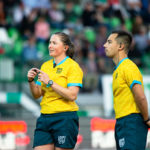 Aimee Barrett-Theron during the United Rugby Championship match Benetton Rugby vs Ospreys on October 16, 2021 at the Monigo stadium in Treviso, Italy